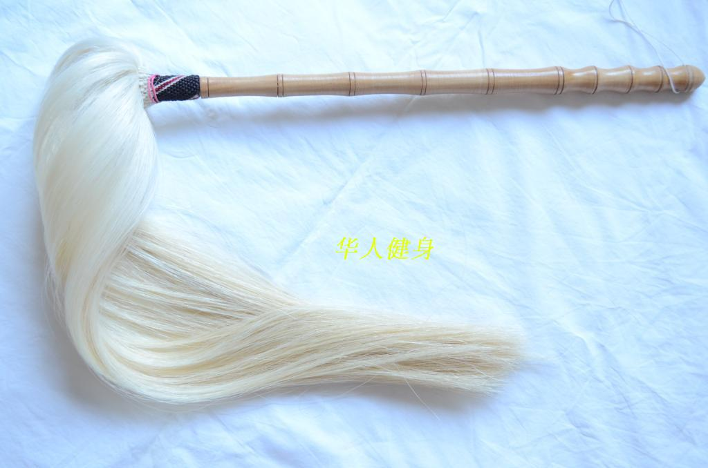 Wudang Taoist Horsetail Whisk Real Hair