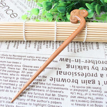 Load image into Gallery viewer, Wudang Taoist Monk Hand Carved Cloud Hairpin