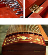 Load image into Gallery viewer, Hui Hong Mahagony Guzheng Zither