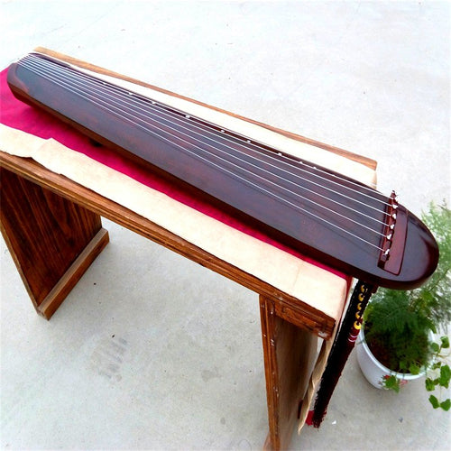 Rounded Designer Chinese Guqin