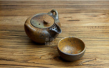 Load image into Gallery viewer, Japanese Earth Look Stone Ceramic Tea Set