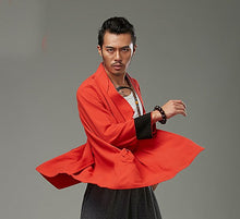 Load image into Gallery viewer, Red Chinese Style Kung Fu Jacket