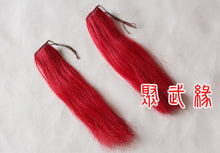 Load image into Gallery viewer, Real Horse Hair Red Spear Tassel