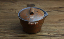 Load image into Gallery viewer, Japanese Antique Handmade Stone Ceramic Tea Pot