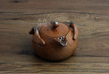Load image into Gallery viewer, Japanese Earth Look Stone Ceramic Tea Pot