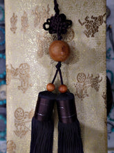 Load image into Gallery viewer, Long Sword Tassel with Wooden Ball
