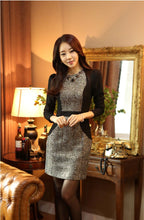 Load image into Gallery viewer, Combined 2 In One Korean Designer Business Dress with Jacket