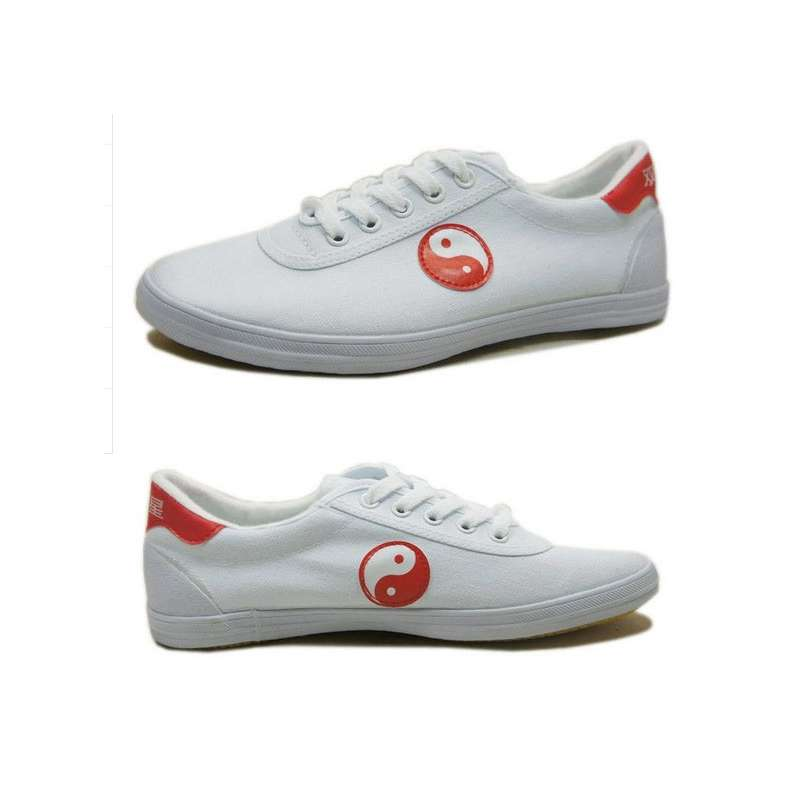 [Size 35-44] White Yin-Yang Kung Fu Shoes