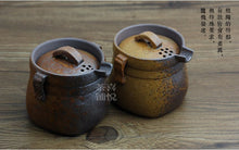 Load image into Gallery viewer, Japanese Handmade Stone Ceramic Tea Pot