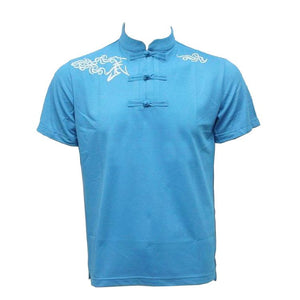 Light Blue Short Sleeve Martial Arts T-Shirt