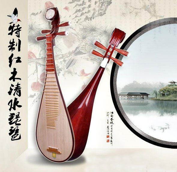 Chinese Pipa Musical Instrument