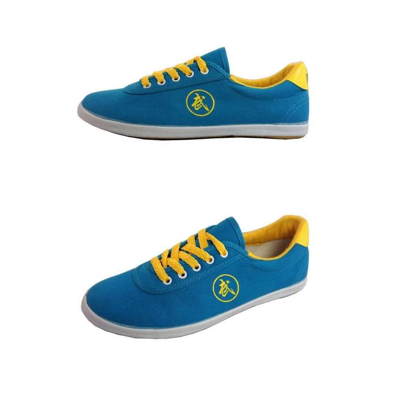 [Size 35-40] Authentic Blue Kung Fu Shoes