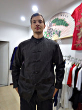 Load image into Gallery viewer, Extravagant Design Grey Wudang Tai Chi Shirt