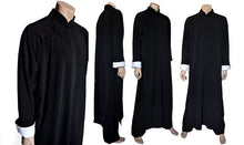 Load image into Gallery viewer, Black Ip Man Style Wing Chung Kung Fu Long Coat for Men