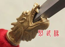 Load image into Gallery viewer, Stainless Gong Ying Qiang Spear With Dragon Head