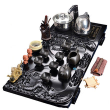 Load image into Gallery viewer, Big Traditional Dragon Tea Set with Electric Cooker and Pot