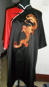 Thick Silk Dragon Embroidery Martial Arts Uniform
