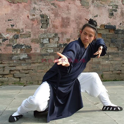 Traditional Wudang Taoist Uniform for Men and Women Closed Arms