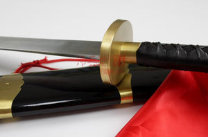 Chinese Wushu Dao with Wrapped Handle