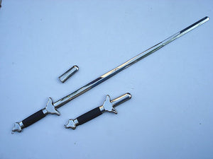 High Quality Full Metal Stainless Steel Tai Chi Folding Jian