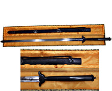 Load image into Gallery viewer, Long Hilt Black Wood Kung Fu Jian