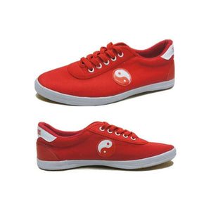 [Size 35-44] Red Yin-Yang Kung Fu Shoes