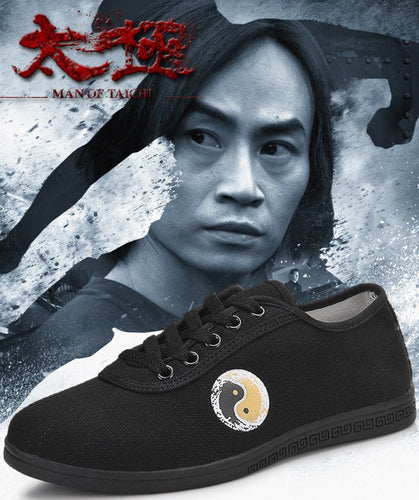 Black Tai Chi Chinese Martial Arts Shoes