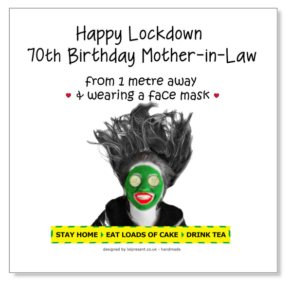 Bed Head - Face Mask Happy Birthday