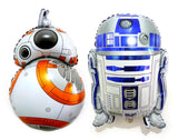 R2D2 3CPO Star Wars Balloon x1