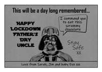 Darth Vader - a day long remembered