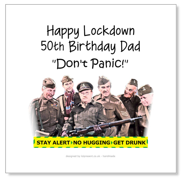Dads Army, Don't Panic