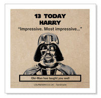 Darth Vader, most impressive!