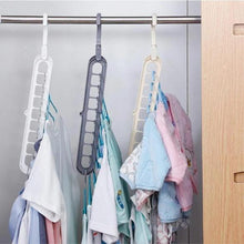 Load image into Gallery viewer, Rotate Anti-Skid Folding MAGIC CLOTHES HANGER