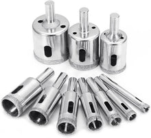 Load image into Gallery viewer, Glass Tile Marble Hole Drilling Bit Set(10PCS)