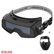 Load image into Gallery viewer, Auto Darkening Welding Goggles R100A