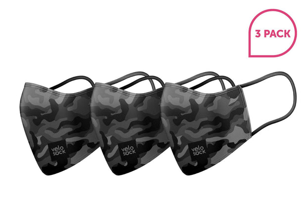 Face Mask - Camo (3 Pack)