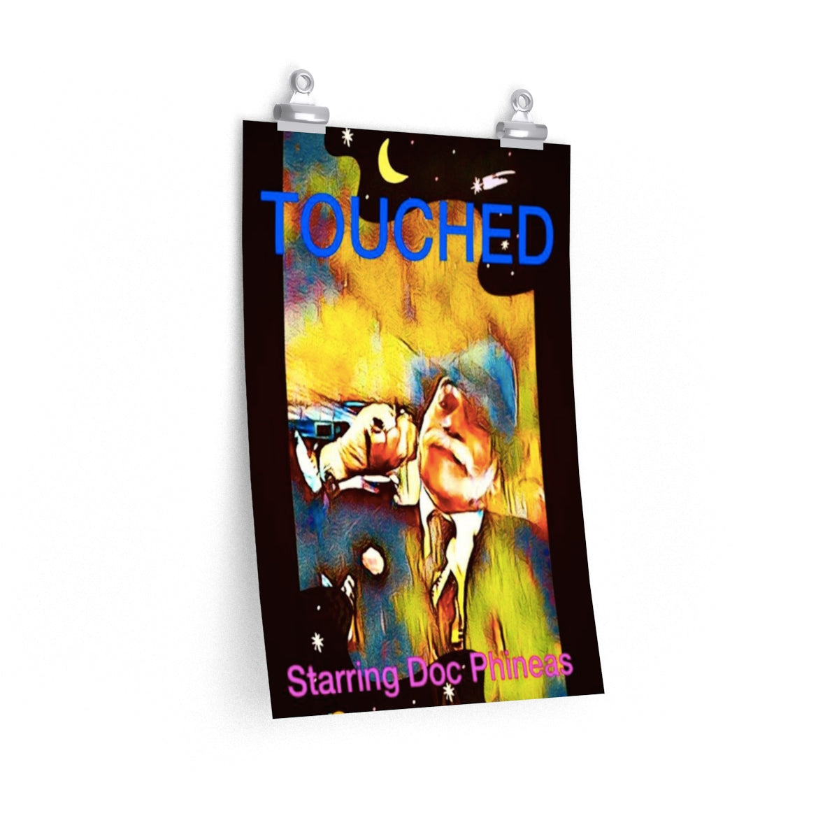 "Doc Phineas New TV Series ""TOUCHED"" Posters"