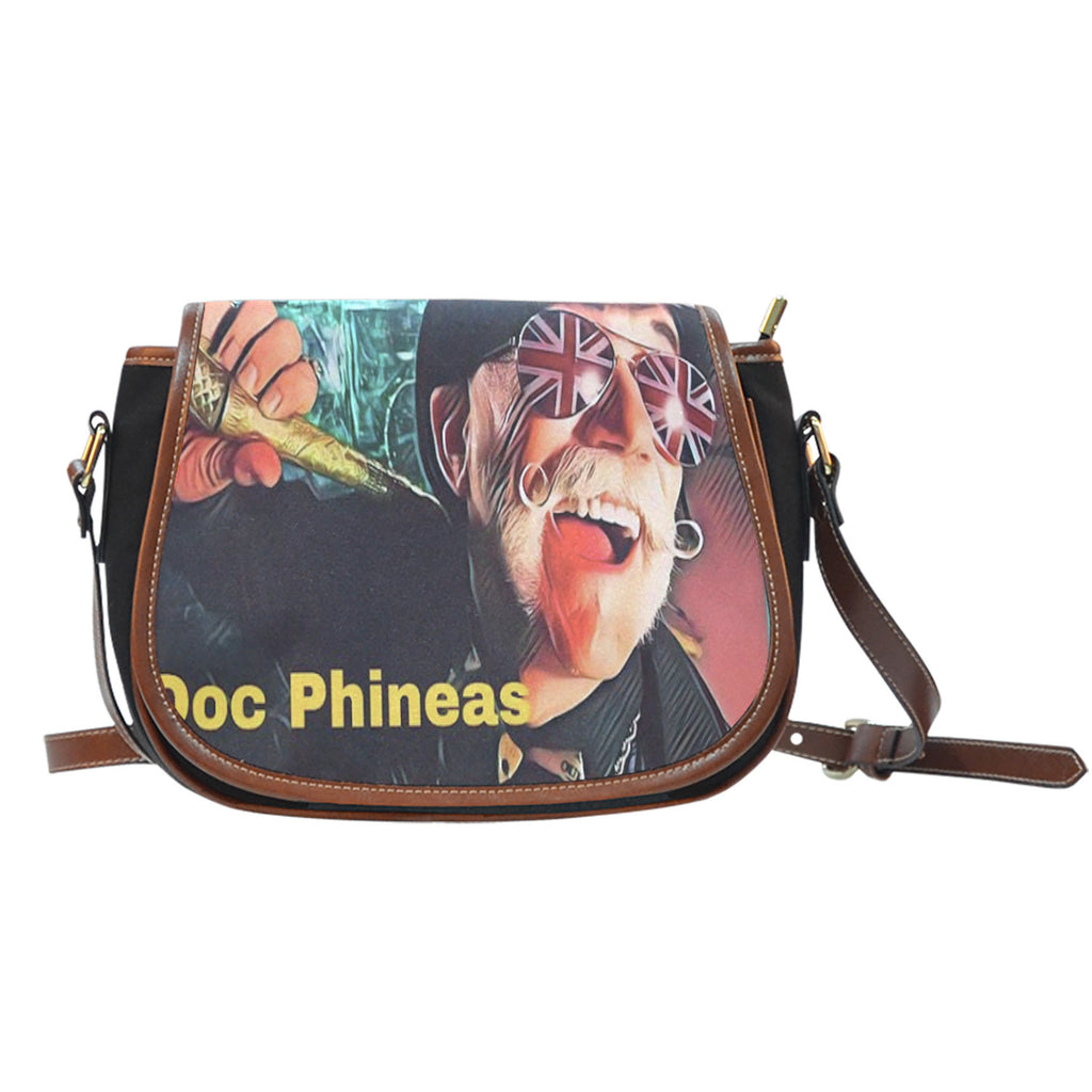 UK Doc Phineas Leather Saddle Bag