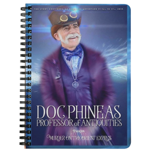 Doc Phineas™ Spiral Notebook
