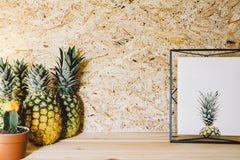pineapples with pineapple picture