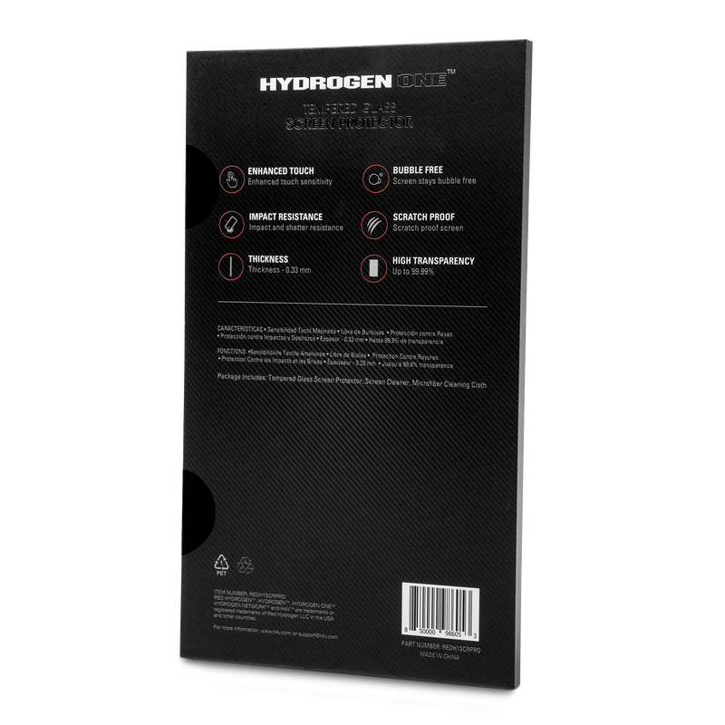 HYDROGEN One Screen Protector - RedHydrogen