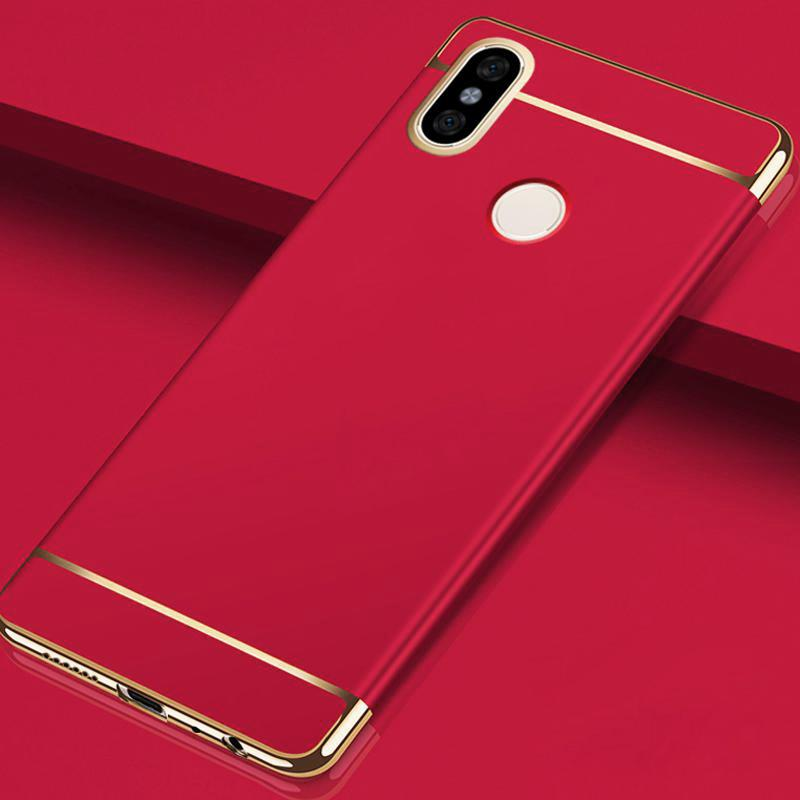 ce380335b Redmi Note 5 Pro Luxury Electroplating Matte Finish Case – Case Master