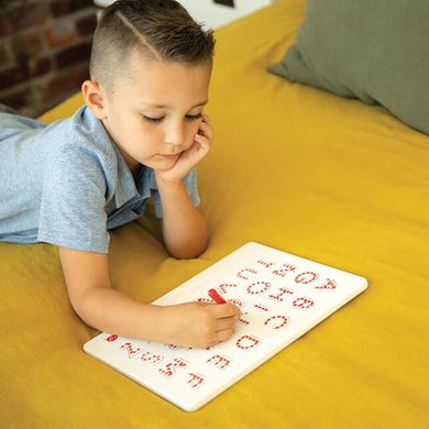 Child learn to write