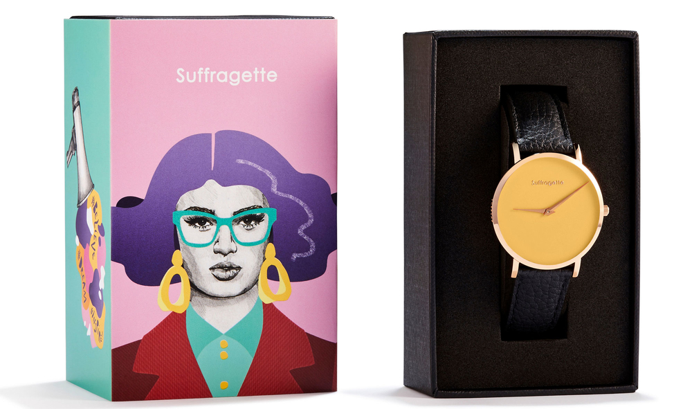 Suffragette Packaging
