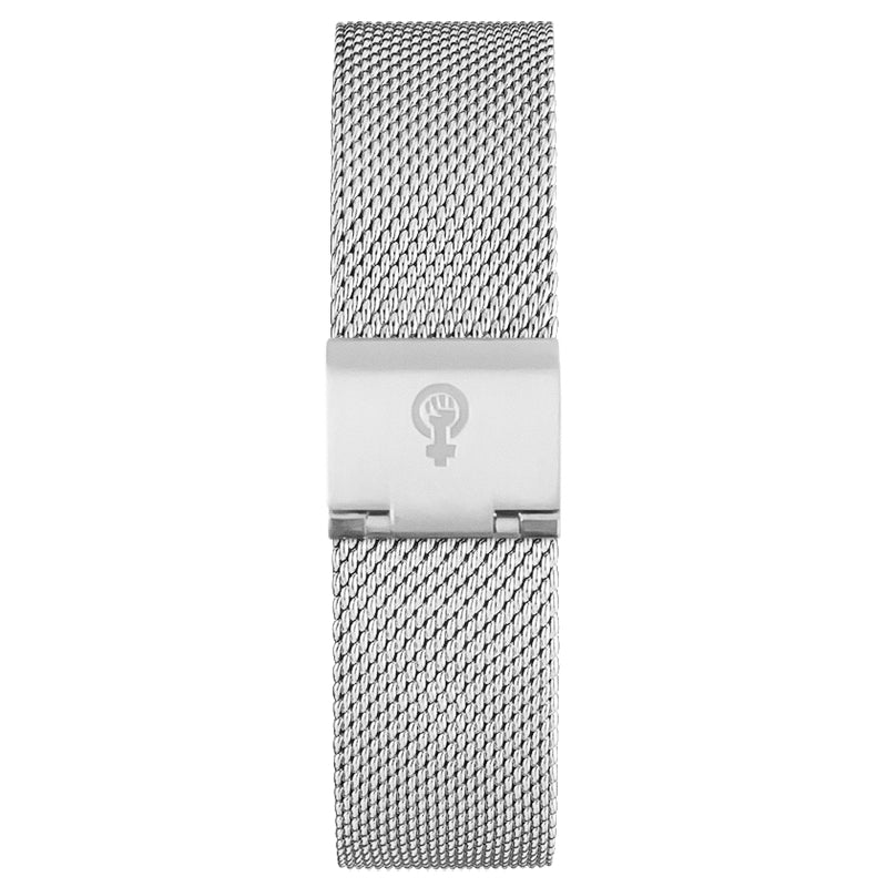 Silver Watch Band