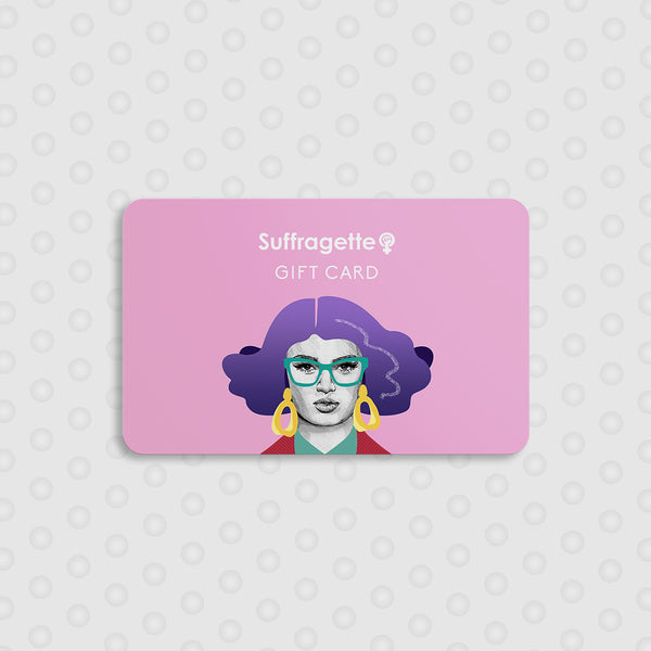 Suffragette Gift Card