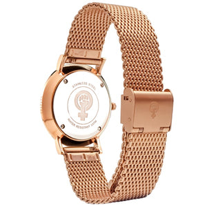 Rose Gold Watch Band