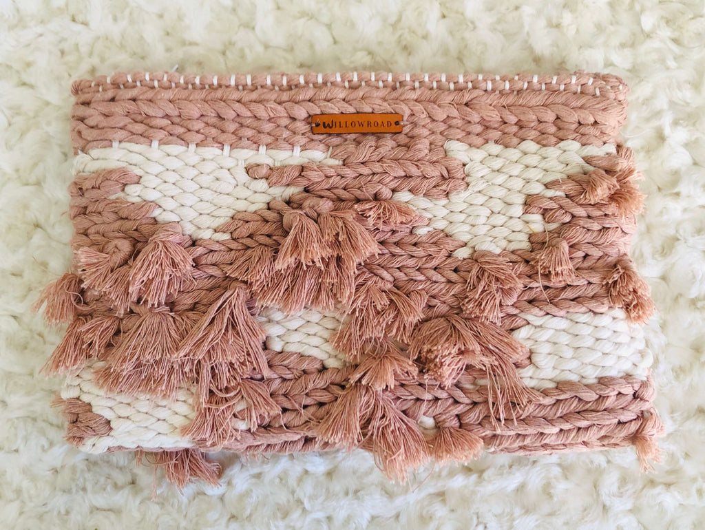 Lindsey - Handwoven Clutch Bag