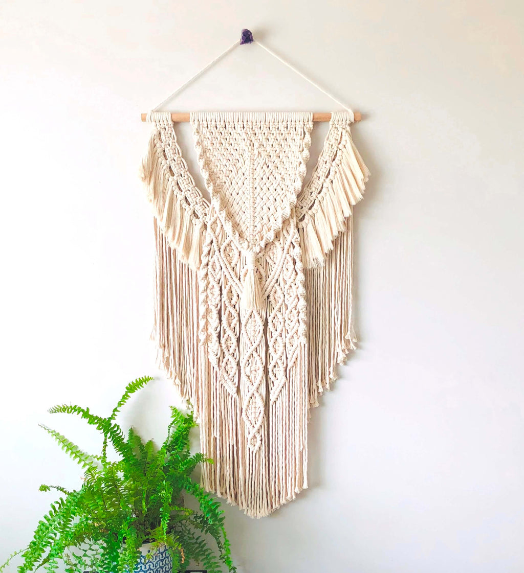 Luce - Custom Macrame Wall Hanging