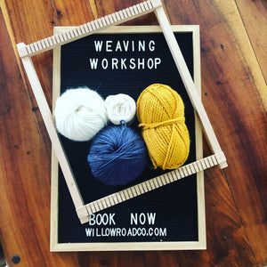 Weaving Workshop - 8th December 2019